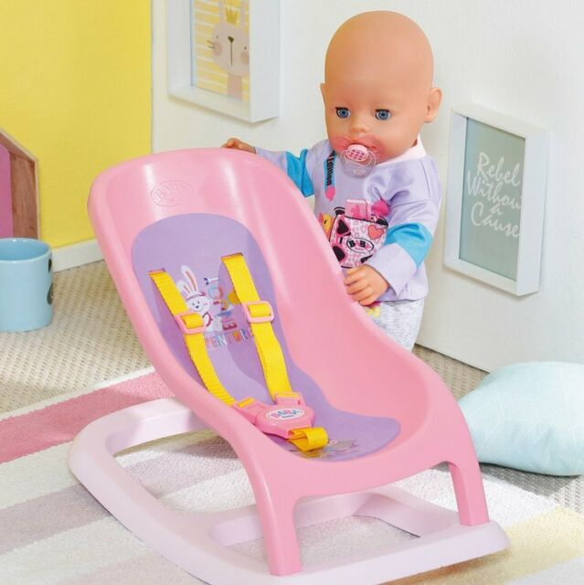 Zapf Creation Baby Born Bouncing Chair Bounce Seat For 43 & 36cm Baby Dolls