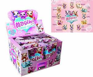 MAGIKI KITTENS 16 PZ BUSTINE PERSONAGGI 3D GATTI BOX DISPLAY NUOVO DE AGOSTINI