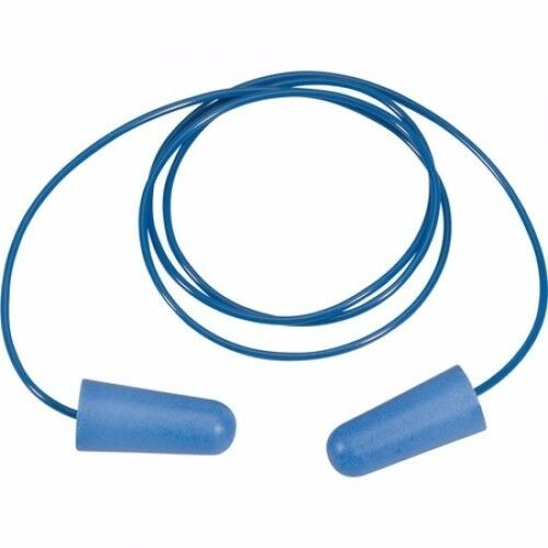 200 Pairs of PRO-FIT Metal Detectable Earplugs with Cord SNR 37dB