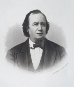 WILLIAM-B-RICHARDS-Illinois-Patent-Law-Lawyer-1876-Portrait-Print