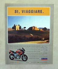 E605 - Advertising Pubblicità -1997- YAMAHA TDM 850
