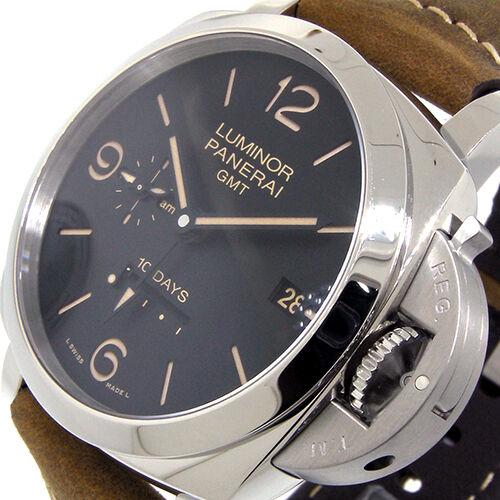 UNWORN PANERAI PAM 533 BLACK LUMINOR 44 mm 1950 10 DAYS GMT ACCIAIO PAM00533