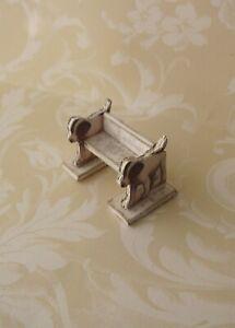 Dollhouse-Miniature-Puppy-Chair-Stool-1-12-OOAK-artist-room-decor-dog-child