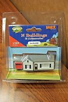 Imex N Scale Ranch House Built-up Building