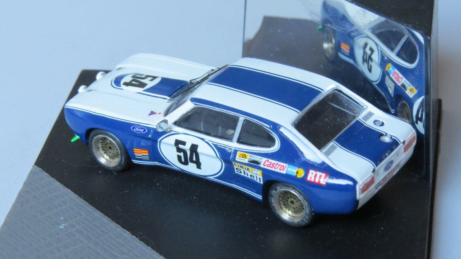 Miniature 1 43Ford Capri Le Mans 72 G.Byrrell C.Bourgoignie Kit résine Mini Raci