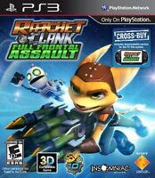 Ratchet And Clank: Full Frontal Assault - Playstation 3 , New, Free Shipping on sale