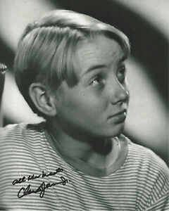 CLAUDE JARMAN JR. SIGNED AUTHENTIC 'THE YEARLING' 8X10 PHOTO w/COA GREGORY PECK