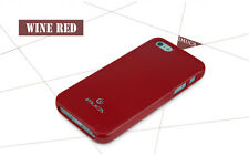 Glossy IMUCA iPhone 5/5S Ultra Slim Case w. Screen Protector, Stylus &Wipe Red