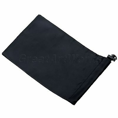 For GoPro Hero3+ 3 2 1 Camera Accessory Nylon Protective Storage Bag Pouch Black