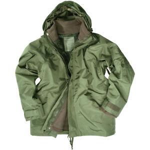 Ejercito-Parka-Militar-Gore-Tex-Con-Capucha-Chaqueta-Impermeable-Con-Forro-Verde