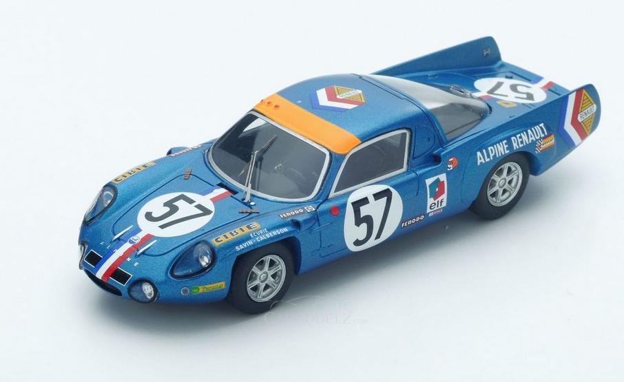 Alpine A210 9th le mans 1968 S4372  1 43 Sparkmodel
