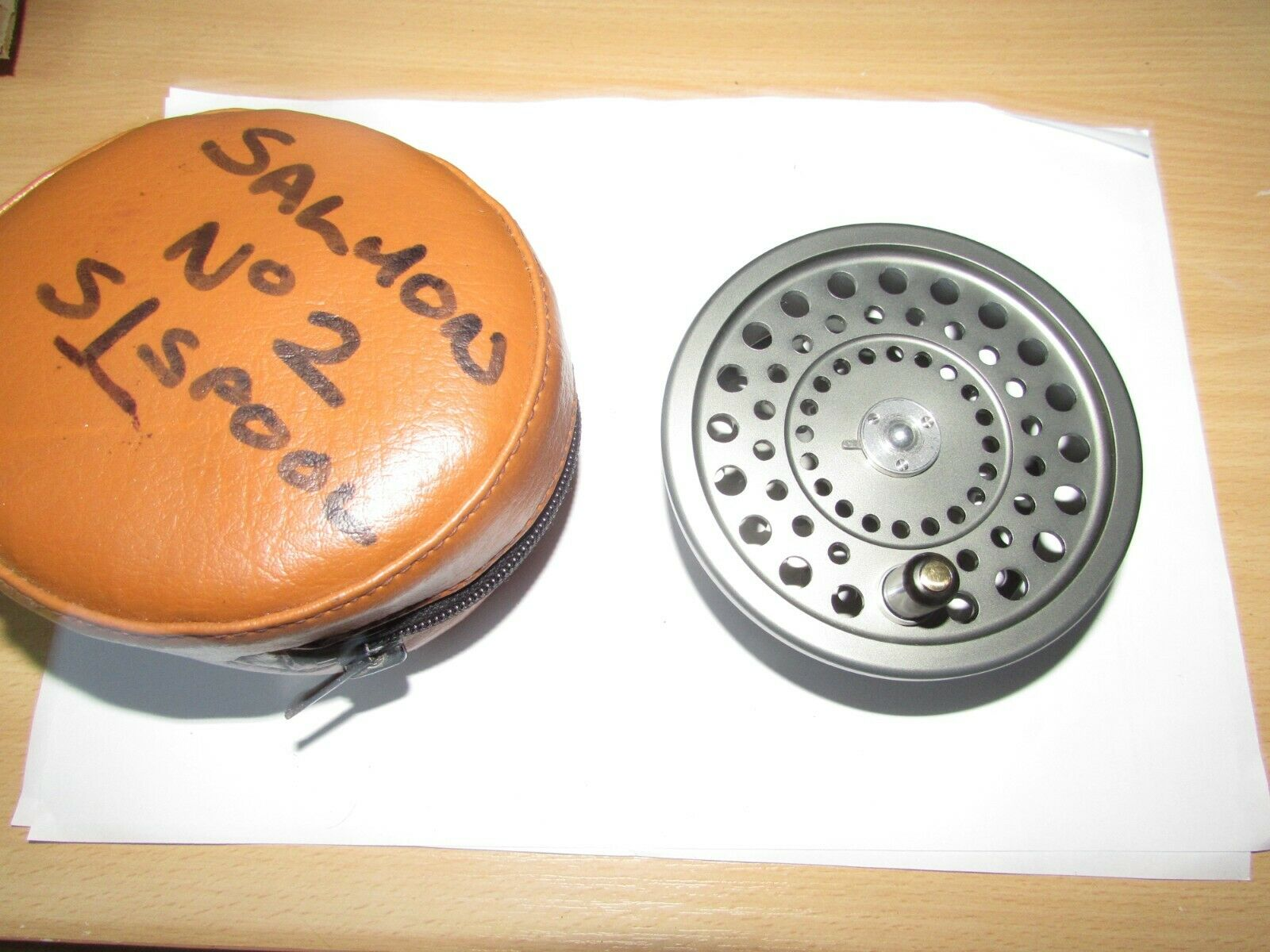 A1 hardy marquis no. 2 spool for LWT lightweight salmon fly fishing reel & case