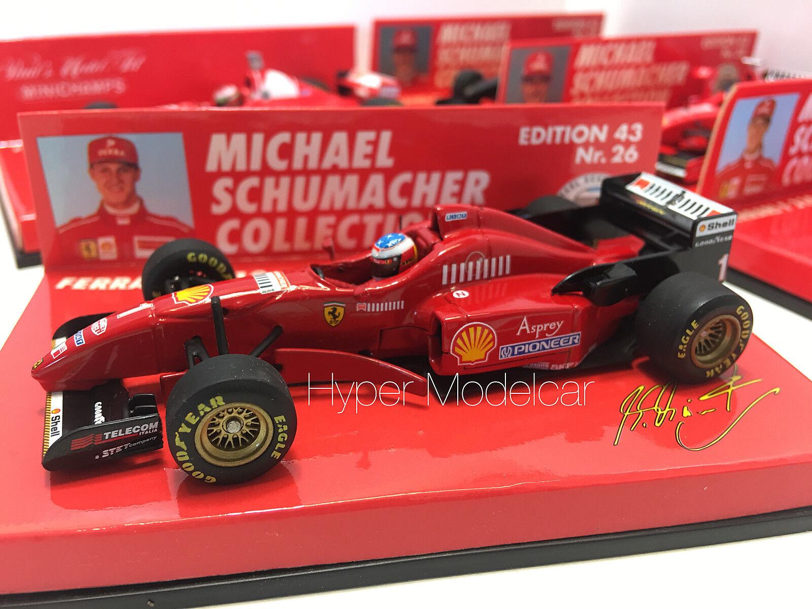 Minichamps 1 43 F1 Ferrari F310  1 1996 M. Schumacher Art. 510964301