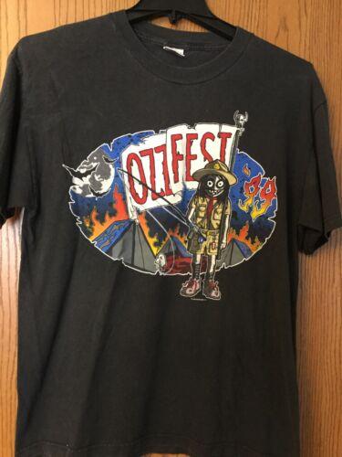 Ozzfest 1999 Black Shirt.  L.  Hyland.