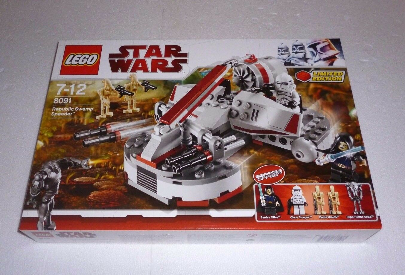 LEGO Star Wars Republic Swamp Speeder (8091) NEU   NEW OVP