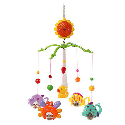 Baby Music Crib Bell Toy Cartoon Rotate Lovely Wind-up Twist Bed Music New