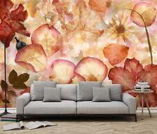 séché Fleurs Papier-peint Mur Mural 3.66x2.54 m non Tissé chambre &