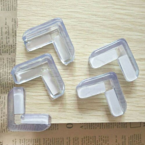8Pcs Table Glass Corner Edge Protection Cover For Child Baby Silicone Protector