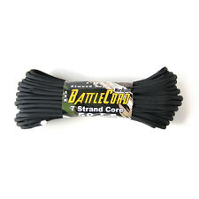 Atwood Battle Cord - Ultra Strong Tactical Paracord - Made in USA - Black - NEW!