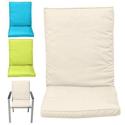 Garden Kitchen Chair Seat Furniture Waterproof Foam Cover Cushion Comfort Pad