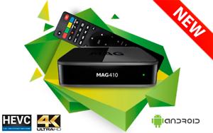 Infomir-MAG-410-MAG410-UHD-4K-Video-IPTV-OTT-Streamer-Box-Android-WiFi-Bluetooth