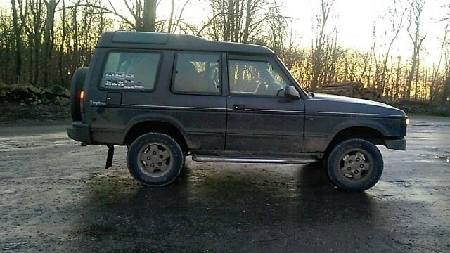 Land Rover Discovery, Diesel, 4x4, aut. 1994, km 310000,…