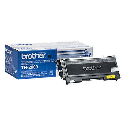 Brother TN-2000 Toner bis zu 2500 Seiten schwarz HAMMER TOP NEU !!!