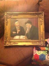 Jewish Art, printed on canvas, Rabbi