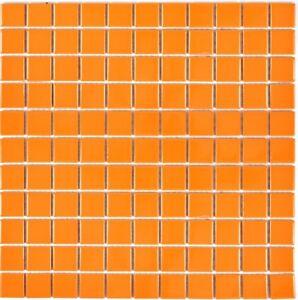 Mosaik-Fliese-Keramik-orange-glaenzend-Fliesenspiegel-Bad-Kueche-Wand-18-0802-b