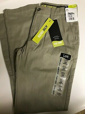 NEW Lee Youth/'s Boys Straight Fit Straight Leg Jeans Pants Size 5 8 10 12