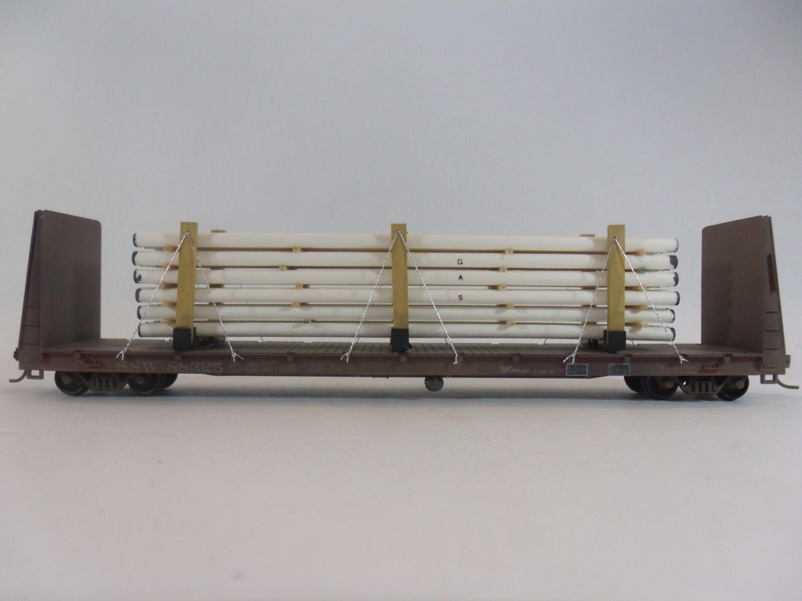 Model Railroads & Trains   HO Scale   Freight Cars    Custom Pipe Load