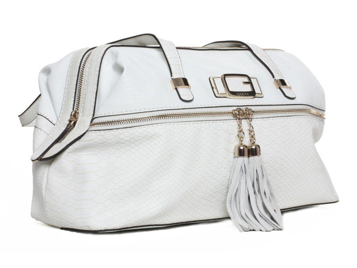 Guess Shopper Handtasche Handtasche Handtasche Tasche Cisely Weiß  GU051A | Won hoch geschätzt und weithin vertraut im in- und Ausland vertraut  0d65e4