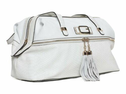 Guess Shopper Bag Handbag Cisely White #GU051A