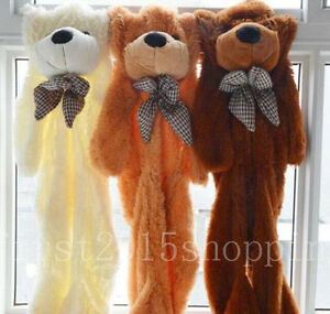 HOT SELL! 60-300CM HUGE GIANT SUPER SEMI-FINISHED TEDDY BEARSKIN (WITHOUT COTTON