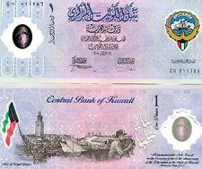 KUWAIT 1 DINAR 2001 P-CS2 UNC COMMEMORATIVE POLYMER