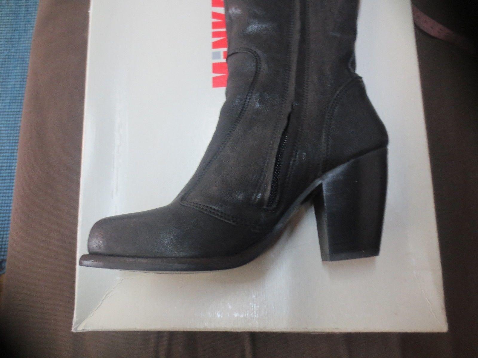 MINKA MINKA MINKA design botte cuir black NEUVE valeur 179E talon 8cm pointures 37,40 d15b7a