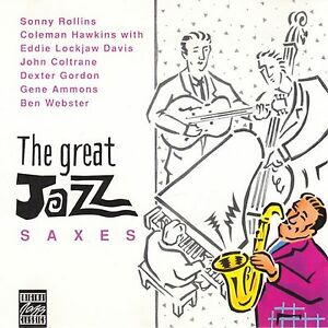Various-Artists-The-Great-Jazz-Saxes-CD