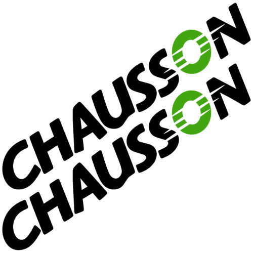 2x CHAUSSON Old 85cmx13,4cm aufkleber sticker wohnmobil camper wohnwagen caravan