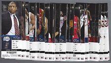 2013-2014 NBA LA CLIPPERS BASKETBALL COMPLETE SEASON FULL TICKETS - 60 TIX