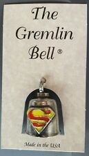 Superman Motorcycle Guardian Angel Harley Good Luck Gremlin Bell Made in USA