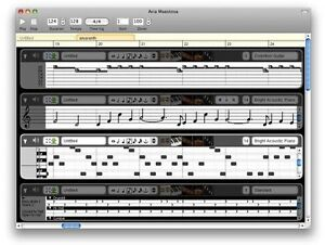 Details about Aria Maestosa (Midi Sequencer/Editor Compose/Edit/Play Midi  Files) PC/Mac CD