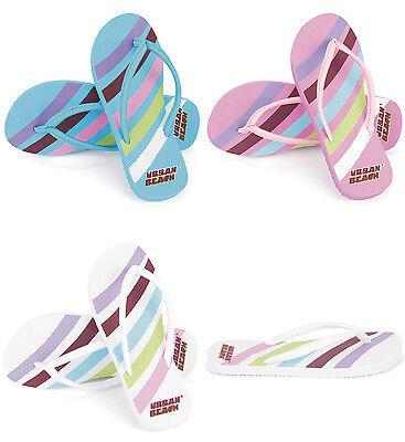 Girls / Kids Urban Beach Swoosh Flip Flops. Sizes UK 10 - 2