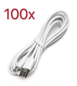 100-Pack USB-C Type-C 3.0 Data Sync Charger Charging Cable Cord For LG G5 Huiwei