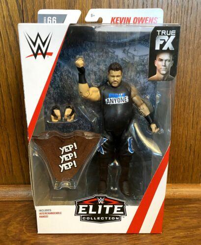 Kevin Owens WWE Mattel Elite Series 66 Action Figure NIB New Sealed NXT Raw