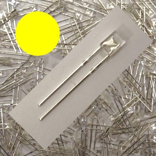 LED Rechteckig Gelb klar 2x3mm 1//10//25//50 Stückzahl wählbar 2x3x4mm C3603