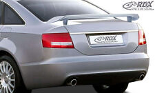 RDX Heckspoiler AUDI A6 4F C6 Limousine Heckflügel Heck Spoiler Flügel Hinten
