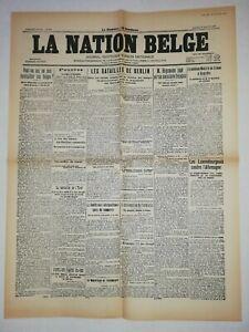 N853-La-Une-Du-Journal-La-Nation-belge-11-janvier-1919-les-batailles-de-Berlin