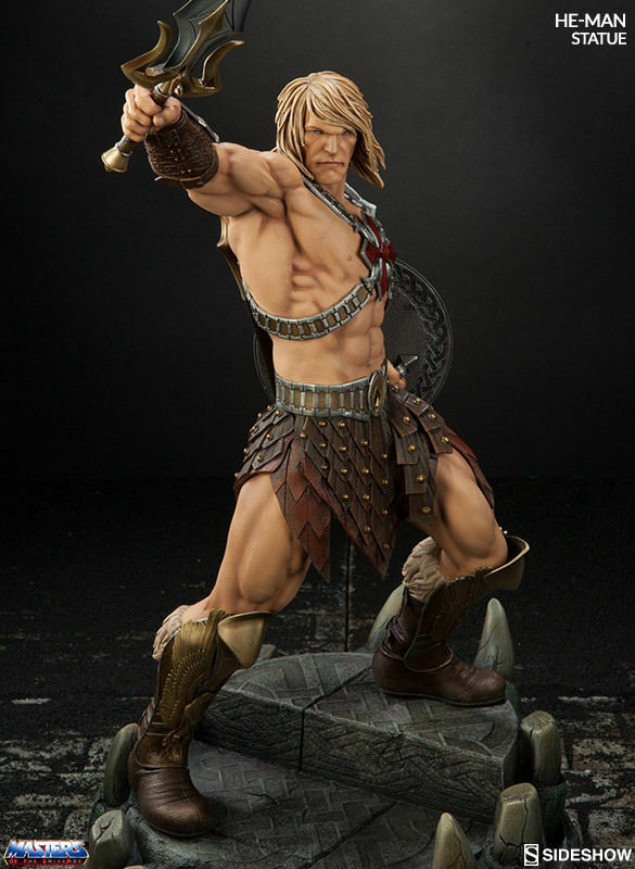 Sideshow 200459  1/6 He-Man The whole body statue