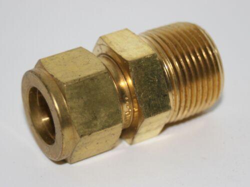 """Tubo de 5//8/"""" X 3//4/"""" Rosca Conector macho de latón montaje Swagelok B-1010-1-12"""