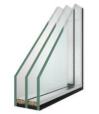 Isolierglas 3 fach nach Maß Fensterglas  Wärmeschutzglas Thermoglas Wunschmaß